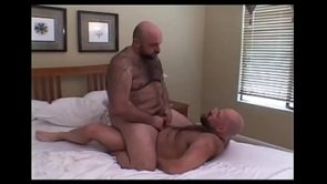 Andrew Mason And Don James Bears In Heat