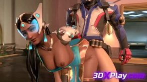 Overwatch – Symmetra x Soldier 76 Sex Fucked Pussy Cartoon (Sound)