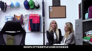 ShopLyfterMYLF – Blonde Mother  And  Daughter Fucked For Stealing