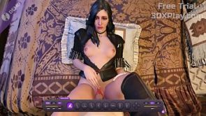YENNEFER ROUGH FUCKED BIG COCK 3D VIDEO GAME