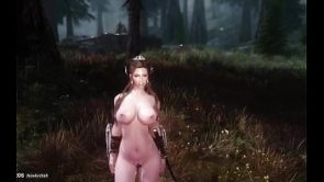 Skyrim Sex Journey – Jane 02 alone in the wood