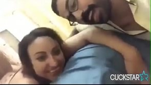 arab wife gets fucked infront of husband