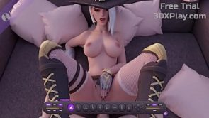 Overwatch Sex Ashe Rough Fucked Big Dick