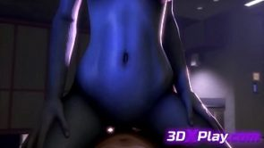 LIARA HOT FUCK BIG DICK 3D ANIME