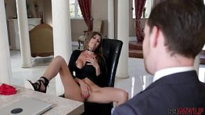 Alexxa Vega In Tax Man On Her Juicy Pussy