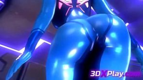 Metroid Samus Masturbating Animation HMV