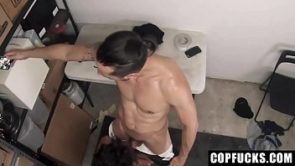 Shoplifter Fucked Wild and Hard By Officer – Spencer Gray And Jace