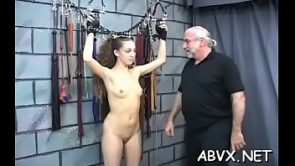 Sugary bimbo is playing with her nice sex toy