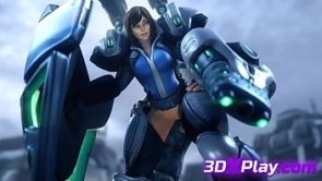Lt Morales Hot Fucked Pussy 3D Anime