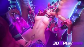3D SEX GAME WATTSON X MIRAGE FUCKED 2019