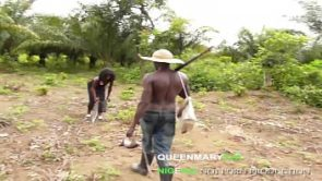 QUEENMARY9JA- African hunter fucked the King&#039_s daughter for a bush meat