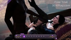 THE WITCHER 3 YENNEFER ROUGH FUCK BIG COCK ANIMATION HMV