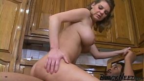 Blonde MILF Deep Throating The 9 Inch Dick