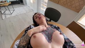 Young Housewife Loves Morning Sex – Cum in My Coffee