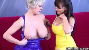 Dee Williams shared a huge black dick with Catalina Cruz 3 Way