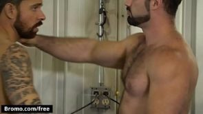 Hunk Bottom Dominated By A Huge Muscular Man With A Big Cock – BROMO