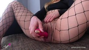 Horny Clit and Wet Pussy of Teen Girl Shake from Stormy Orgasm