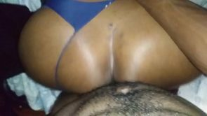East Atl BBW Bent over before her man comes home..