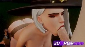 Overwatch Ashe Sucked Cock Animation 2019