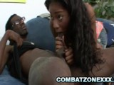 Tiffan Monroe – Beautiful Ebony Teen Screwed By Her Black Step-Dad