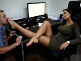 Sexy boss in control